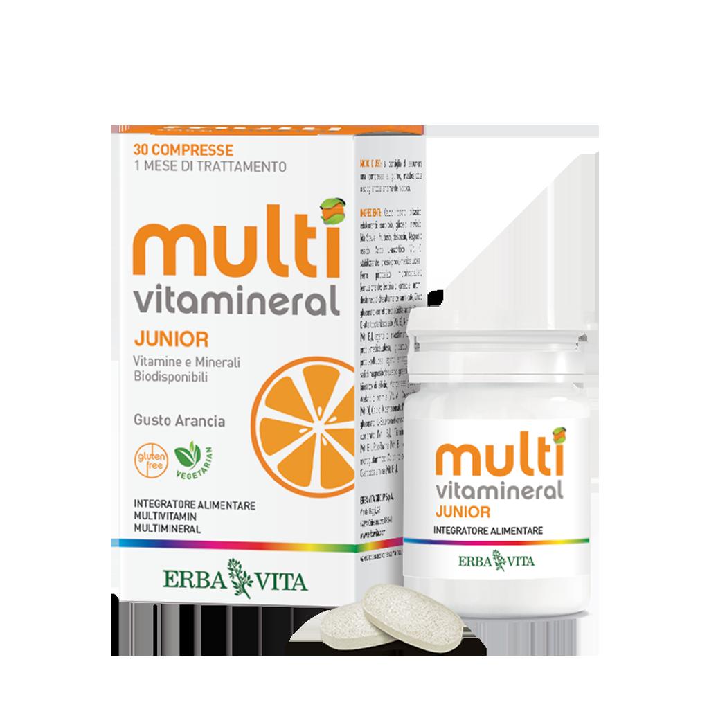 Integratore alimentare a base di vitamine e minerali adatto per i ragazzi